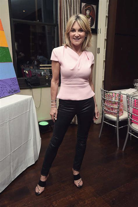 anthea turner attends hiv awareness dinner leather