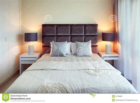 The Bed Is Perfectly Made Royalty Free Stock Photo   Image