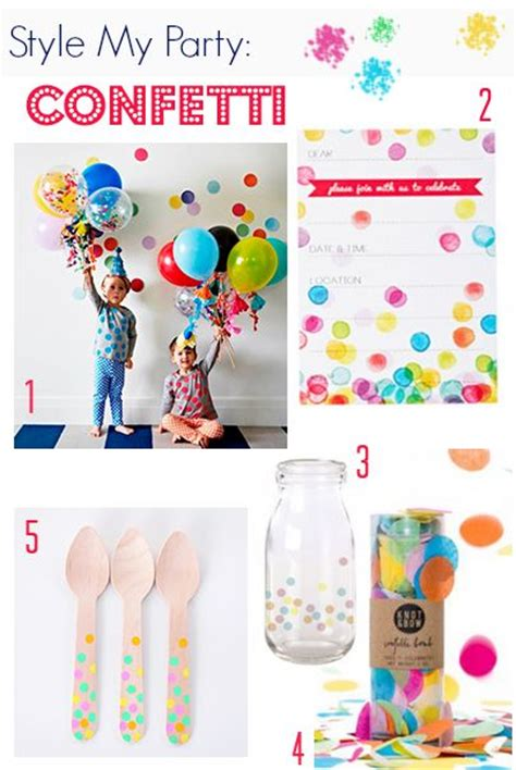 Confetti Decorations by 1000 Ideas About Confetti Balloons On Glitter