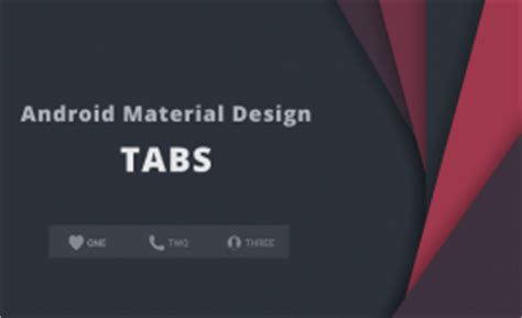 android design library tab layout exle android getting started with material design
