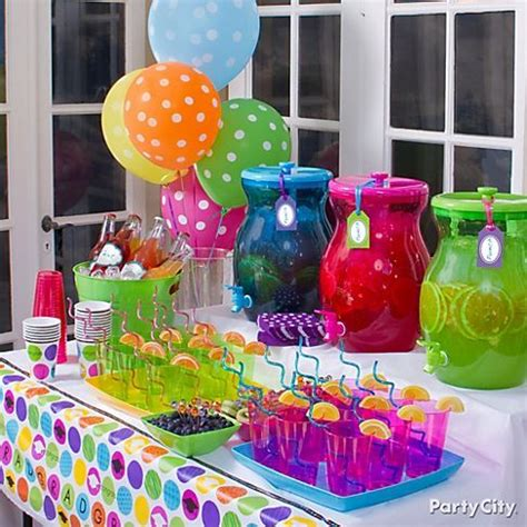 colour themes lollipop 13 colorful high school graduation party ideas how fun