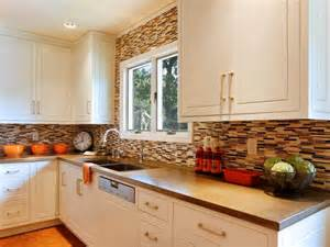 backsplash for brown cabinets photo page hgtv