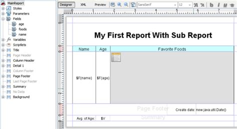 design jasper report using ireport zk small talks 2012 april create a report with zk using