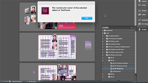 tutorial scripting indesign indesign scripting made easy