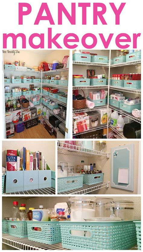 Small Pantry Makeover by