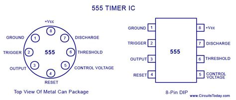 integrated circuit 555 datasheet a complete basic tutorial for 555 timer ic electronic circuit collection