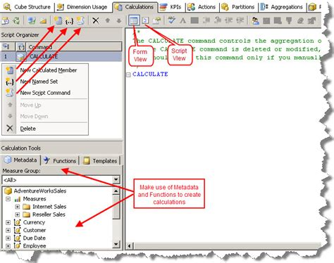 mdx query tutorial in sql server 2008 1 sql server implementing calculations in ssas using mdx part1