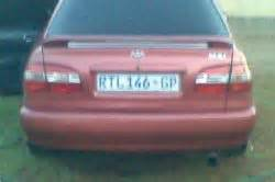 Cheap Used Cars For Sale In Pretoria Used Toyota Corolla Cars In R40000 R60000 Price Range