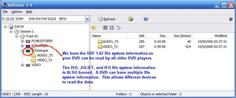 format of dvd dvd format udf 1 02 make sure your dvd plays in all dvd