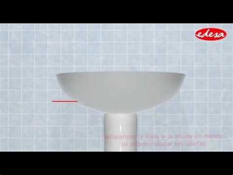 lavamanos con sarro youtube instalaci 243 n lavamanos pompano con pedestal largo youtube