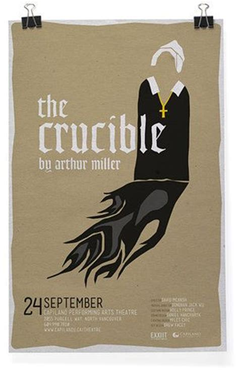 the crucible themes religion the crucible posters pinterest texts poster and