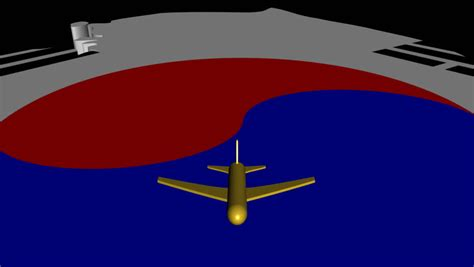 flags of the world x plane plane taking off from south korea map flag animation stock