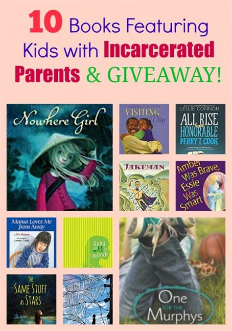 Back To School Giveaway 2017 Near Me - 10 books featuring kids with incarcerated parents giveaway pragmaticmom