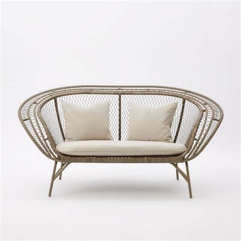 peacock couch modern peacock sofa west elm