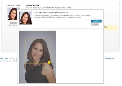 profile picture size the new linkedin profile taking advantage of the new design