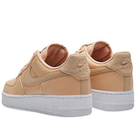 Promo Nike Airforce 1 Low Brown Premium Original Sepatu Kerja Kets lyst nike air 1 07 premium in brown