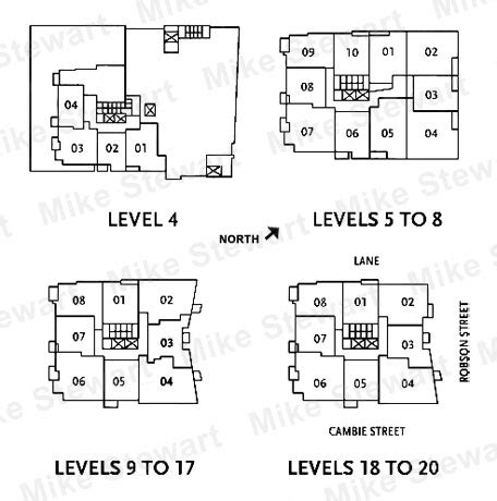 Raffles On Robson 821 Cambie Floorplans House Plans X Marks The Spot