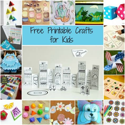free kid crafts 63 free printable crafts for allfreekidscrafts