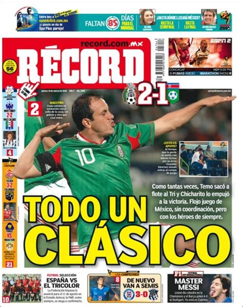 Mexico Records Portada De Record M 233 Xico Images Frompo