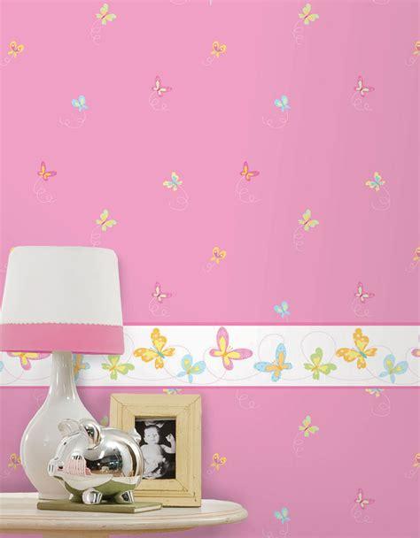 cenefas pintadas en la pared papel pintado infantil hoopla papel pintado infantil