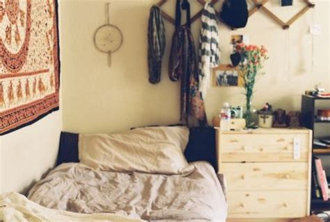 Indie Hipster Bedroom Idea Dream Catcher And Comfy Bed   indie hipster bedroom idea dream catcher and comfy bed