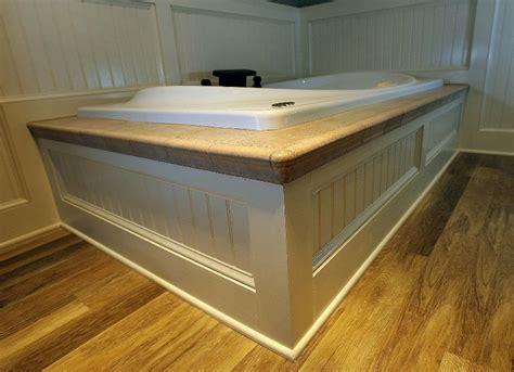 custom bathtub surrounds custom carpentry tub surround beadboard renovisions inc