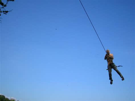 swinging rope rope swing bristol united kingdom uk