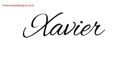 tattoo designs xavier xavier archives free name designs