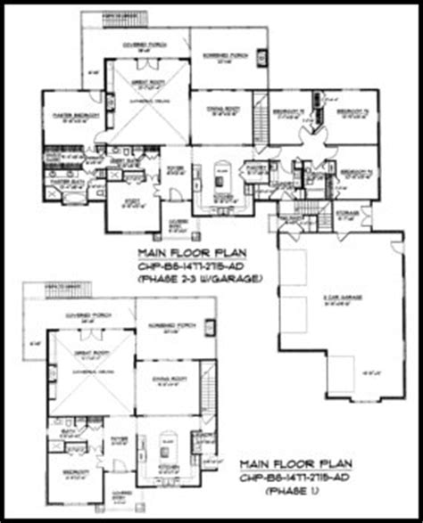 ad house plans expandable craftsman house plan bs 1477 2715 ad sq ft