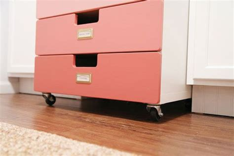 ikea blue rolling cart 52 best images about ikea drawer chest hacks helmer