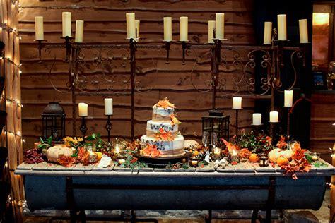 Wedding Cake Display Ideas by Fall Wedding Cake Display Idea Elizabeth Designs