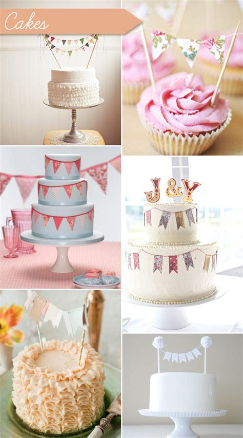 Wedding Bunting Decorations by Wedding Bunting Ideas Bunting Decor Stationery And Cake Toppers Onefabday