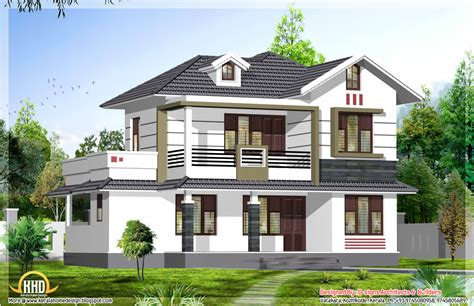 stylish kerala home design 1950 sq ft kerala house