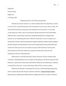 American Identity Essay by Essay Exle Abandoning America Research Paper