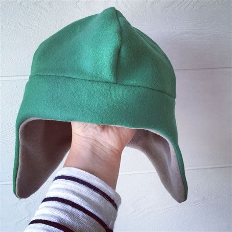 hat pattern pinterest hat in fleece by nearby nu children and adults free