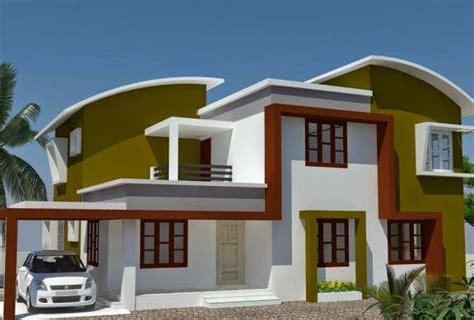 desain atap rumah desain rumah modern minimalis atap lengkung desain rumah