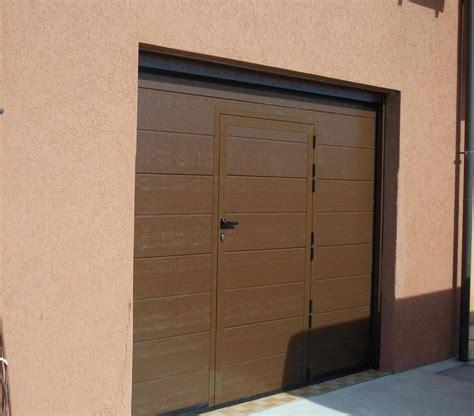 porta garage automatica porta da garage apertura automatica con portina pedonale