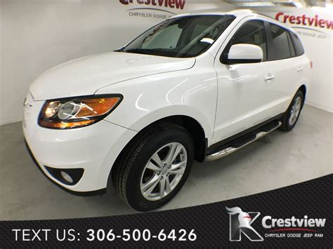 used hyundai santa fe limited awd used 2011 hyundai santa fe limited awd v6 leather