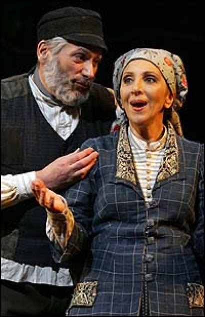 andrea martin fiddler on the roof re cast fiddler on the roof with fierstein and martin