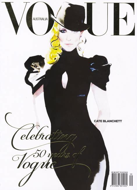 fashion illustration vogue covers david downton fashion illustrator clients vogue