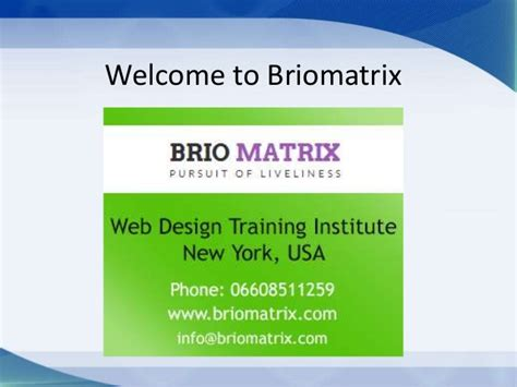 design management course new york web design training in new york briomatrix