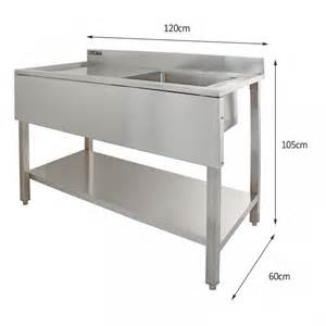 commercial kitchen sink stainless steel monstershop