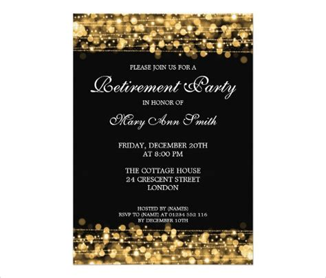retirement party free printable invitations templates with balloons