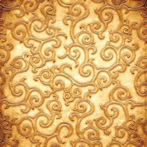 金色花纹背景图片