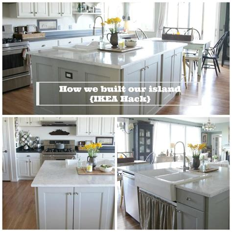 1000 ideas about ikea island hack on pinterest expedit jmann2866 kitchen island ikea hack how we built our