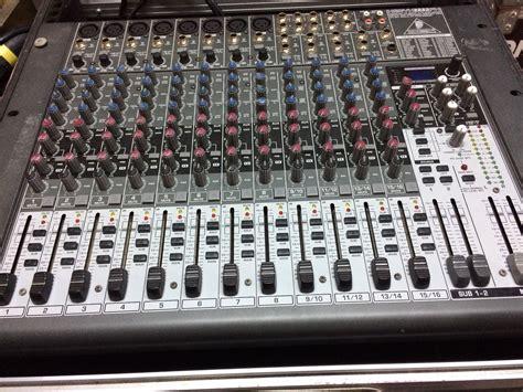 Mixer Behringer Xenyx 2222fx xenyx 2222fx behringer xenyx 2222fx audiofanzine