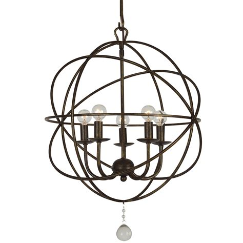 Wrought Iron Sphere Chandelier Wrought Iron Sphere Chandelier Image Collections Crystorama Brentwood Chandelier Choice Image