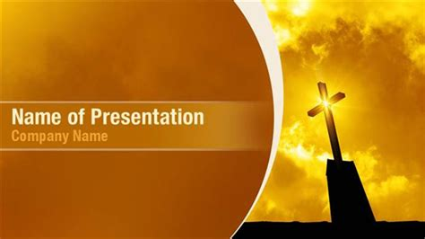 Cross Sunrise Powerpoint Templates Cross Sunrise Catholic Powerpoint Backgrounds