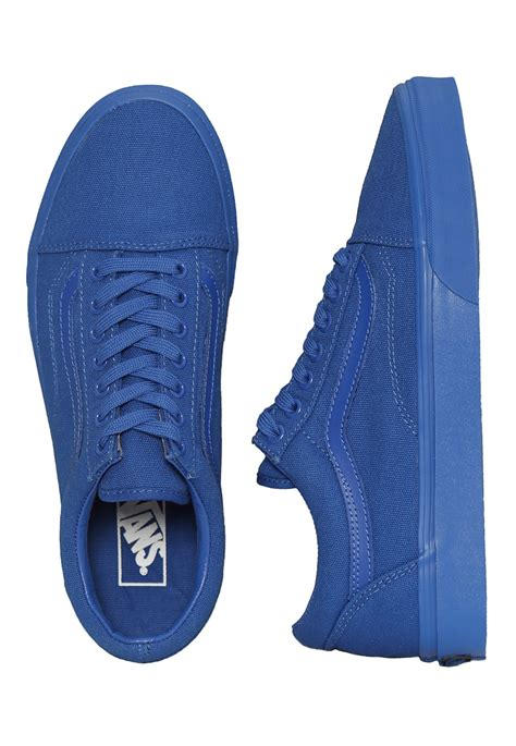 Blue Shoes by Vans Skool Nautical Blue Shoes Impericon