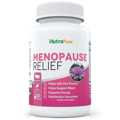 supplements for menopause mood swings menopause relief supplement nutrapure health